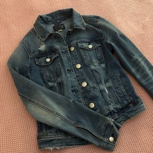 American Eagle Cropped Jean Jacket